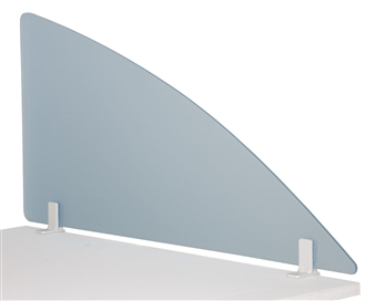Acrylic Desktop Screen - Radius