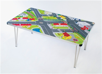 Activity Folding Table - Play Town Table Cover