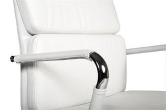 Chrome Arms & White Arm Covers