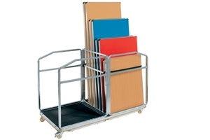 Gopak Large Table Trolley - Holds Up To 14 Tables