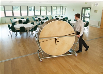 Round Table Trolley - Holds Up To 6 Round Tables