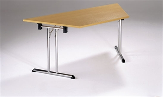 Folding Table - Trapezoidal