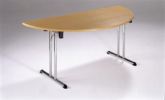 Folding Table - Semi-Circular