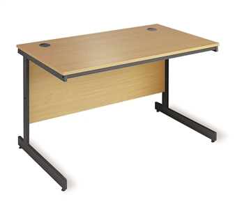 C-Frame Rectangular Desk