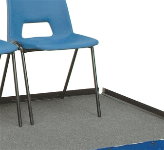 Chair Stop Plates (Will Attach To The Deck Or To The Guardrails)