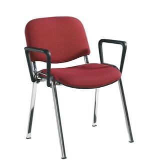 Chrome Frame Chair With Arms