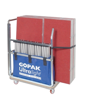 Small Storage Trolley (Stores 10 1m x 1m Decks & Risers)