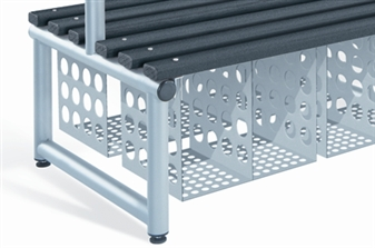 Twin Compartment Storage Baskets