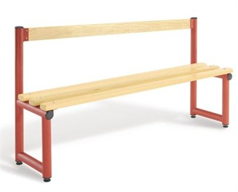 Single Sided Bench With Back Rest