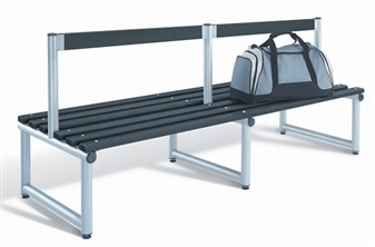 Double Sided Bench With Back Rest