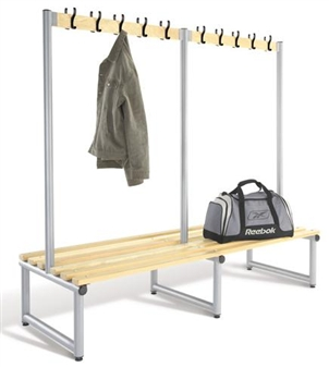 Double Sided Coat Hook Bench