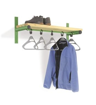 Wall Mounted Shelf & Rail