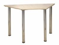 General Purpose Trapezoidal Oak Table