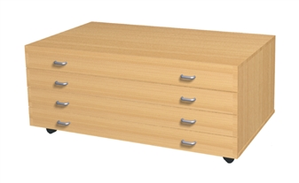 A1 Mobile 4 Drawer Plans Chest