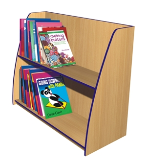 Single Sided Angled Bookcases