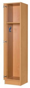 One Door Locker Includes 2 x Coat Pegs