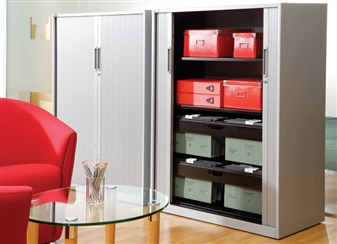 Contract Tambour Cupboards