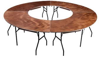 Plywood Banqueting/Function Table - Wave
