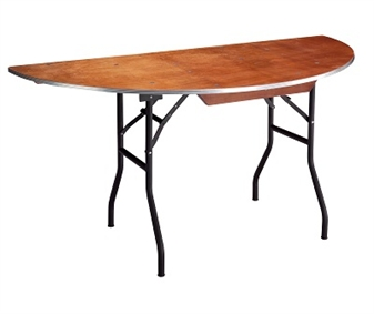 Plywood Banqueting/Function Table - Half Moon