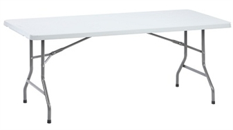 Polypropylene Folding Table - Rectangular