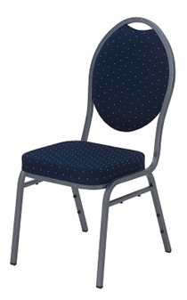 Economy Fire-Retardant Stacking Banquet Chair Without Arms