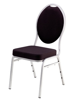 Stacking Banquet Chair - Black