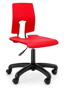 Hille SE Height-Adjustable Swivel Chair With Castors