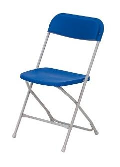 Fold Flat Chair - Blue