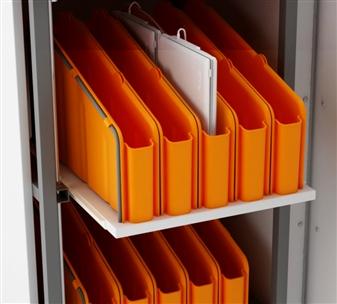 Optional Plastic Vertical Storage Trays
