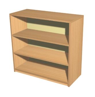 Economy Bookcase - 3 Shelves