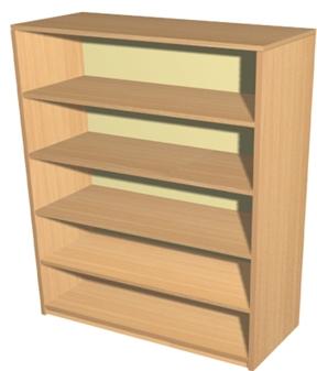 Economy Bookcase - 5 Shelves