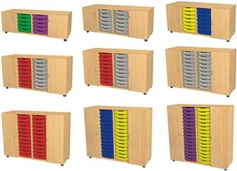 Cupboard - Tray/Tray - Cupboard Units