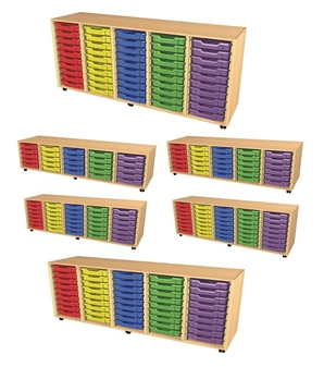 5 Bay Tray Storage Units
