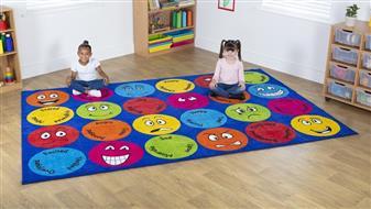 Emotions Rectangular Placement Carpet