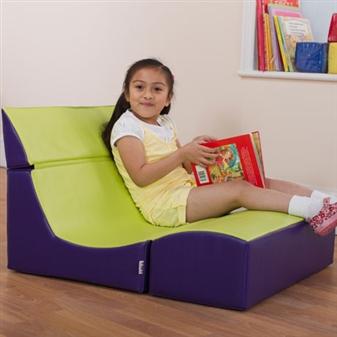 Double Seat Ergonomic Lounger