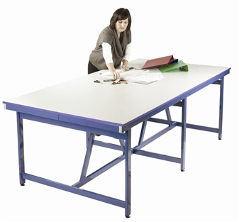 Artroom Project Table - Blue Frame