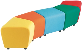 Zig Zag Reception Seating