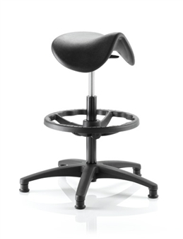 Draughtsman Saddle Seat - Soft PU