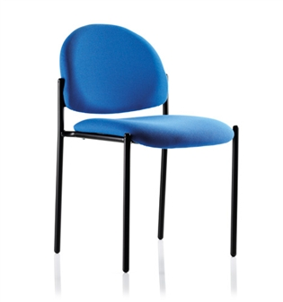 Denton Stacking Chairs - Vinyl - Without Arms