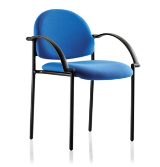 Denton Stacking Chairs - Vinyl - With Arms