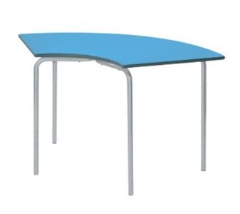 Equation Classroom Table - Semi-Circular