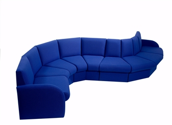 Curve Box Reception Seating