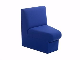 BRSM Concave Segment Seat - Vinyl