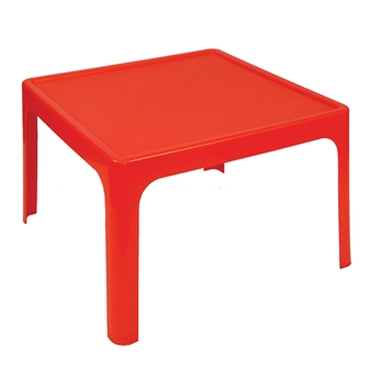 Kidz Plastic Table - Red