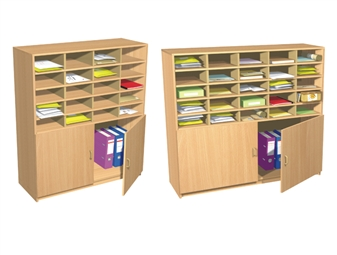 20 & 25 Space Pigeon Hole Cupboards
