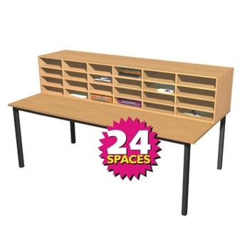 Pigeonhole Sorting Station - 24 Spaces