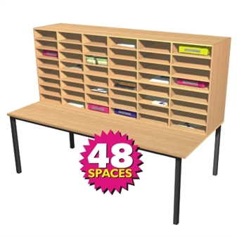 Pigeonhole Sorting Station - 48 Spaces