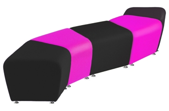 SINUOUS Vinyl Reception Seating