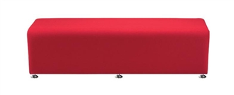 DSIN/S Fabric Reception Seat - Straight