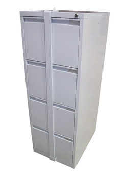 4-Drawer Filing Cabinet With Security Bar